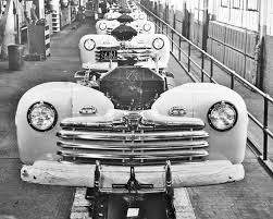 The First New Postwar Production Car – The 1946 Ford | The Old Motor