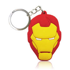 Online Shop <b>1pcs PVC Keychain Cartoon</b> Figure Marvel Avenger ...
