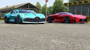 We'd expect the divo to be the headline act for the season 15 update in forza horizon 4. Download Nissan Concept 2020 Vision Gt Vs Bugatti Divo At Monza Full Course Daily Movies Hub