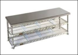Stainless Steel Gowning Bench  Clean Room World BlogCleanroom Bench