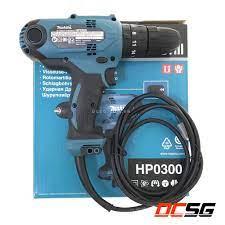 Máy khoan búa và vặn vít dùng điện Makita HP0300