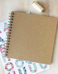 Kraft Brown Scrapbook
