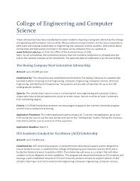 Sample Essay Scholarships Sample Engineering Scholarship Essay Templates At
