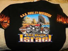 harley davidson t shirt g b r tel aviv
