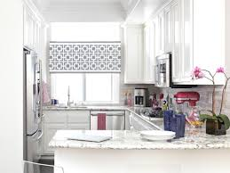 Valance For Kitchen Windows Small Kitchen Window Treatments Hgtv Pictures Ideas Hgtv