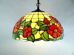 tiffany style lamp shades for ceiling fans pendant lights hanging lamps shade photo 1 pen