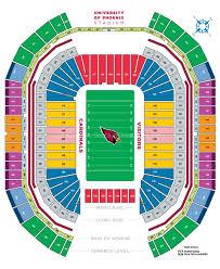 State Farm Stadium Glendale Az Seating Chart View