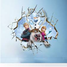Small Picture Elsa Queen and King Frozen Series Wall Sticker Online Shopping