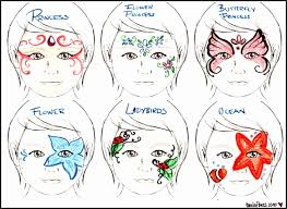 fantastic face paint templates elaboration professional resume