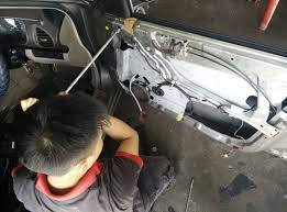automotive power window motor repair