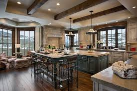 kitchens with black distressed cabinets. Alluring Dark Rustic Cabinets With Kitchens Black Distressed