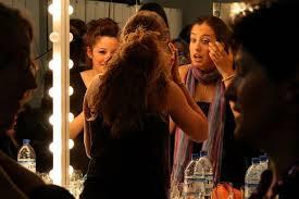actors applying se makeup