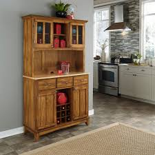 Living Room Buffet Cabinet Medium Brown Wood Sideboards Buffets Kitchen Dining Room