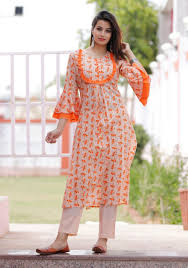 Baby Kurti Design 2019 Cotton Kurti Baby Dress Patterns In 2019 Kurti Sleeves