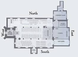 church floor plans. Photo:St Nicholas Floor Plan Church Plans