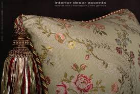 Elegant Home Decor Accents Pillow Extravegant Tasseled Decorative Throw Pillows In Lee Jofa 54