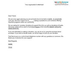 donation letter for non profit donation letter sample for non profit organization the best resume