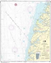 Chesapeake Bay Chart Book Noaa Nautical Chart 12226 Chesapeake Bay Wolf Trap To Pungoteague Creek