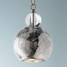 glass lighting pendants. Pendant Lights, Amusing Crackle Glass Lights Bar Light Pendants Silver Round Lighting L