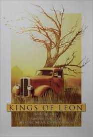 Kings Of Leon New Zealand Tour Poster [Christchurch] Australian ...