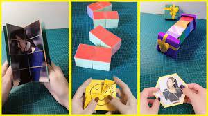 đồ chơi bằng giấy gây ấn tượng tuổi học trò - origami art #107 - YouTube