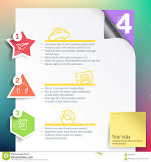 Print Web Design Vector Infographics Layout Template For Print Or Web Design