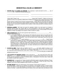 Sign Residential Lease Agreement Template Fill Out And Sign