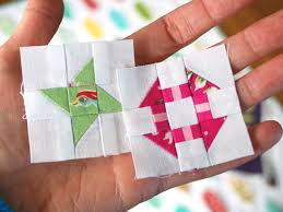 Hope's Quilt Designs: Free Mini Block Pattern - Friendship Star & Piecing on such a small scale can be fiddly, but if you take it slow and  double check the accuracy of your cutting and seam allowances, it will go  together ... Adamdwight.com