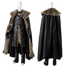 jon snow stark armor cosplay costume battle suit game of thrones season 7 costume