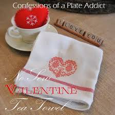 confessions of a plate addict no sew faux cross stitch valentine