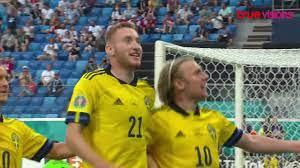 ไฮไลท์ฟุตบอล ยูโร 2020 รอบแบ่งกลุ่ม สวีเดน พบ โปแลนด์