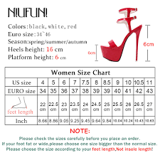 Big Size 34 46 Ultra High Heels Sandals Women Shoes Platform Nightclub Sexy Ladies Sandals Open Toe Ankle Strap Party Sandals