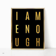 black and red wall decor fresh wall art i am enough gold black girl magic melanin queen gift