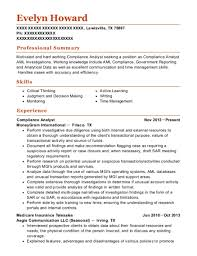Compliance Analyst Resume Cool Best Compliance Analyst Resumes ResumeHelp