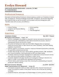 Compliance Analyst Resume Impressive Best Compliance Analyst Resumes ResumeHelp
