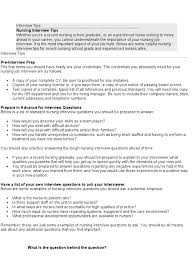 Interview Questions For Nurse Managers Zaxa Tk