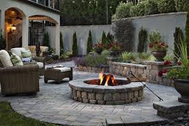 Backyards  Charming Fire Pit Patio Design Ideas 2 111 Simple Backyard Fire Pit Design Ideas
