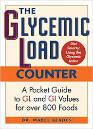 Glycemic Index Food Chart Canada The Glycemic Load Counter A Pocket Guide To Gl And Gi