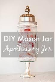 mason jar apothecary jar