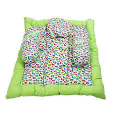 morisons baby dreams elephant print baby bed set green