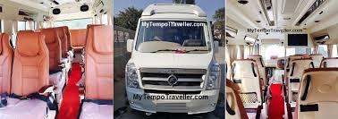 maharaja tempo traveller hire in delhi