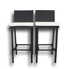 patio furniture dining bar set rattan table chairs pe wicker stools table set garden outdoor indoor