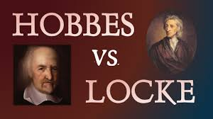 thomas hobbes and john locke two philosophers compared