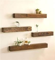 stylish diy floating shelves wall shelves easy shelving rustic wooden shelves and display your favorite