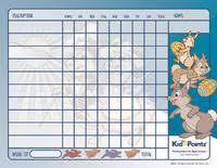 5 Year Old Behavior Chart Behavior Charts Improve Behavior Of Children Kid Pointz