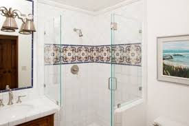 You also don't have to use tile throughout your entire bathroom. A splash  of Handpainted tile in your shower or bathtub can be all it takes to bring  the ...