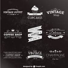 Retro Style Labels Pack Vector Free Download