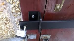security door locks. Amazon.com: SECURITY BAR LOCK FOR LOG CABIN OR BEACH HUT EXTRA HEAVY DUTY STEEL VARIOUS SIZES (1500MM) (1800MM) By Bespoke: Appliances Security Door Locks