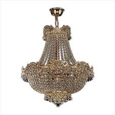 swarovski crystal wave gold chandelier light in gold