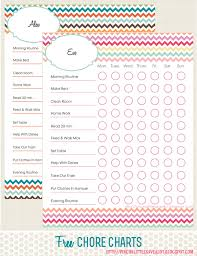 Free Printable Chore Charts For Kids Best Chore Charts For Kids Free Printables Included